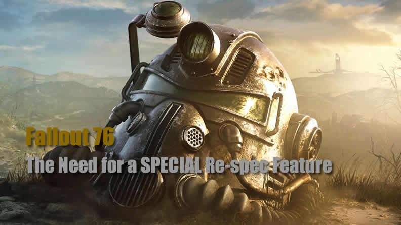 Fallout 76 SPECIALs